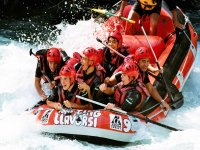 Rafting outlet