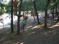 mini parque aventuras