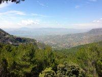 Sierra tejeda natural park