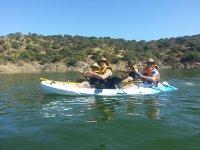 Disfrutando de El Jerte en kayak
