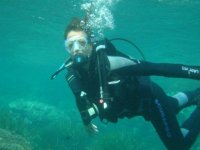 Diver in the Natural Park