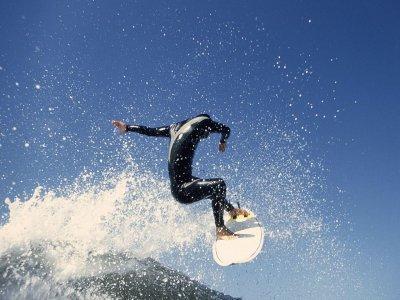 Practica surf en Gran Canaria