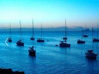 Ibiza nightfall