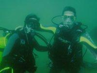 体验潜水的巴塞罗那