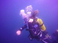 Respirando bajo el agua