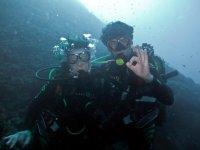 despedidas y submarinismo
