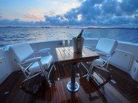 Champagne on board