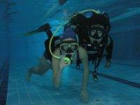 buceo en piscina