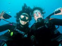 Despedidas bajo el mar