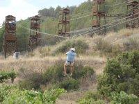 Torres profesionales y tirolina 110 m