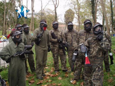 Despedidas Madrid Paintball