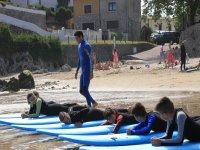 clase playa