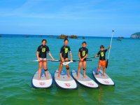 Paddle surf in Cantabria