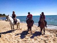ruta playa tres caballos