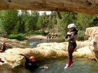 Salta il canyoning