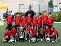 Con las copas de Liga y Champions