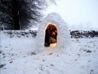 Iglu on the mount snowy