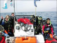 Excursion de buceo en embarcacion