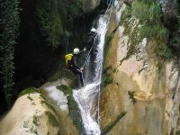 Rappelling in Barranquismo