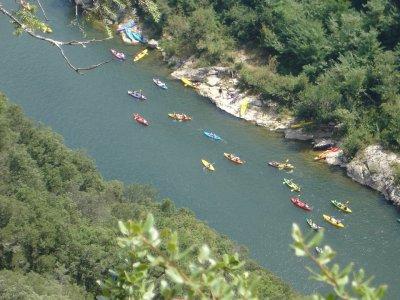 Rutas en kayak en Pontevedra