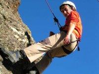儿童攀岩。