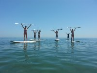 Lifting the oars of sup