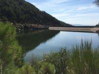 Views of the dam