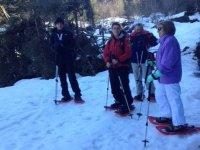 Excursion en raquetas de nieve como incentivo de empresa