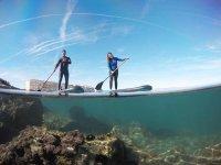Paddle surf en la costa valenciana