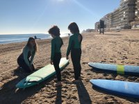 Antes de empezar las clases de surf