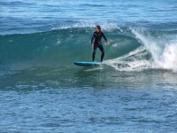 Surfeando en el Perelló