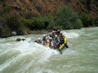 Rafting in the Sierra de Cazorla