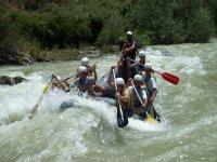 Whitewater rafting in Cazorla