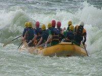 Rafting rafts