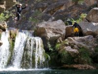 Profiling the descent of the waterfall