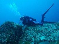 rocas submarinas