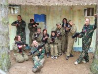 Laser tag paintball laser in paintball navarra