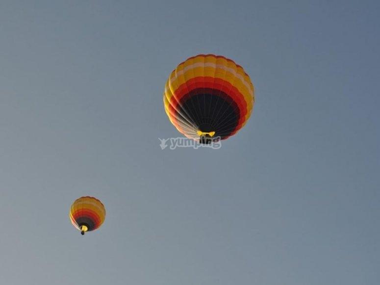 palloncini simultanei segovia