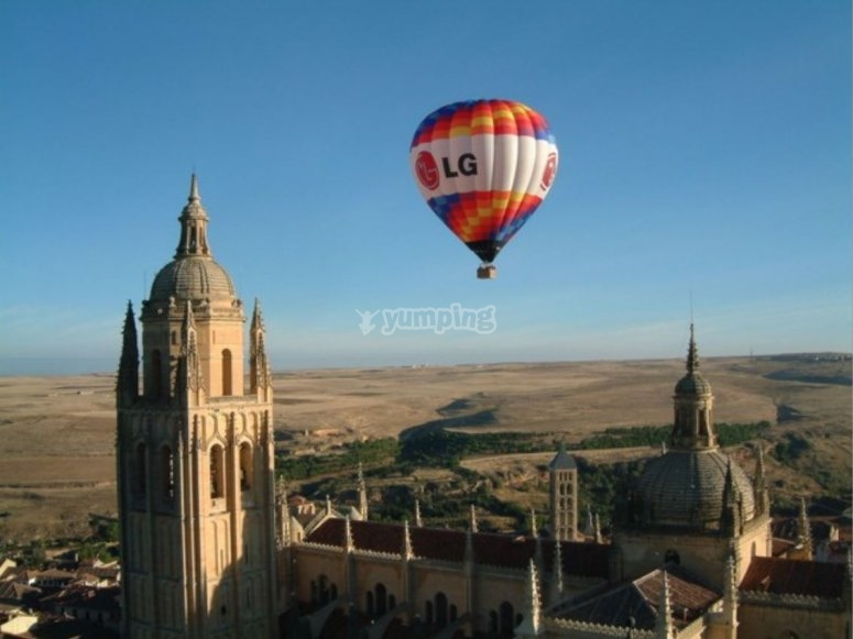 Segovia´s views balloon ride