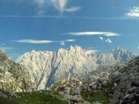 Scenarios for walking like the Picos de Europa