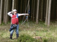 Archery among the woods