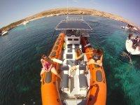 Navigazione a Minorca