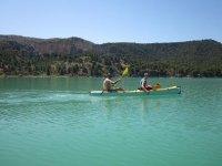 En la canoa