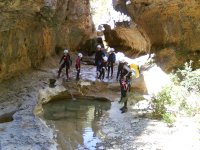 Canyoning as a company incentive