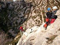 铁索攀岩登山步道