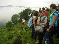Hiking excursions for young people