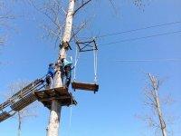 Disfruta de nuestras instalaciones de arborismo