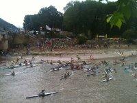 Canoeing races