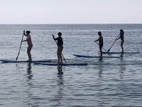 Practicing SUP in group