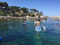 Paddle Surf in Aro Beach